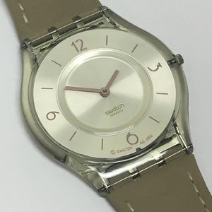 Vintage Skin Swatch Watch Desierto Perido SFF107